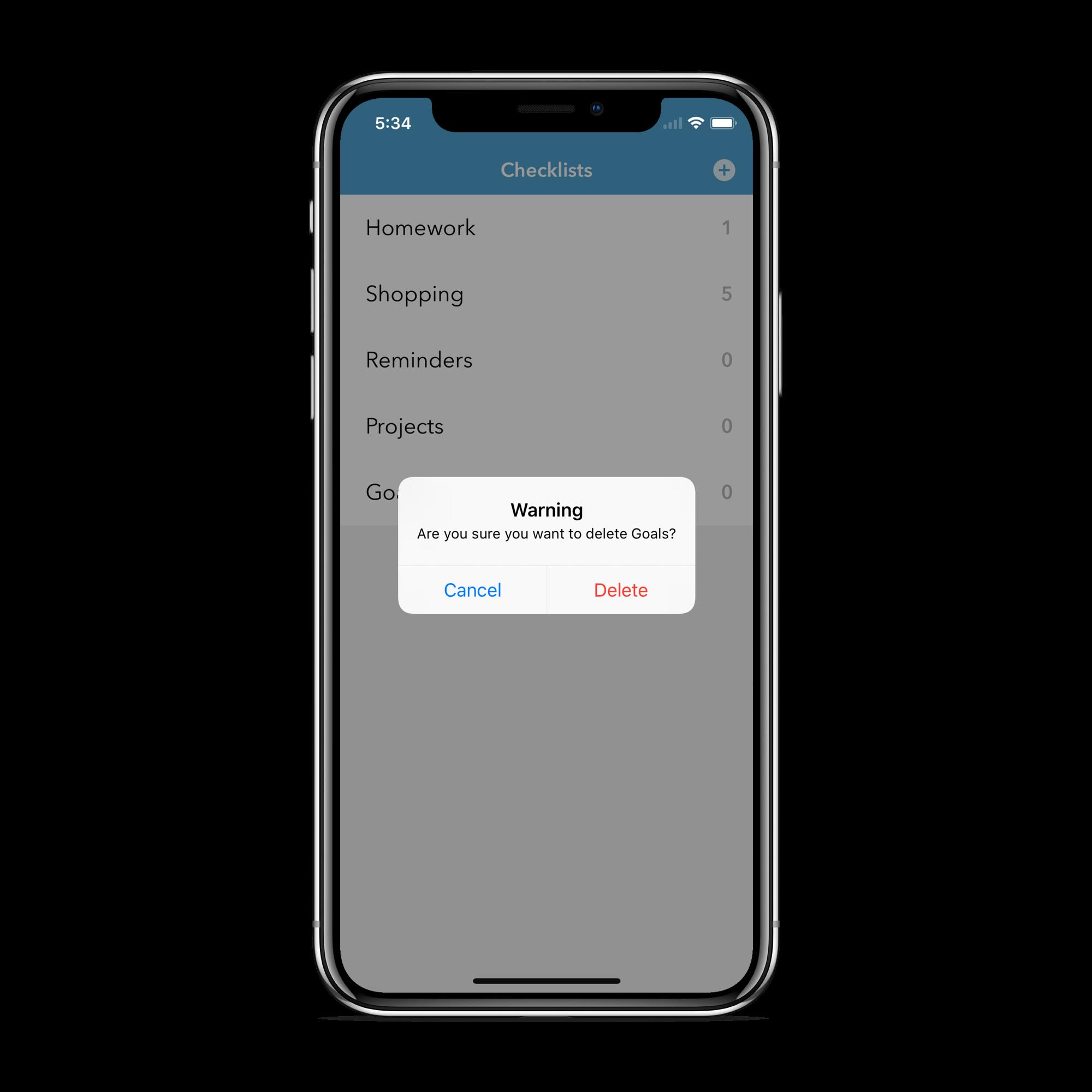 Checklist A Minimalist To Do App Swift Xcode 12 Ios 14 Checklist App Ios