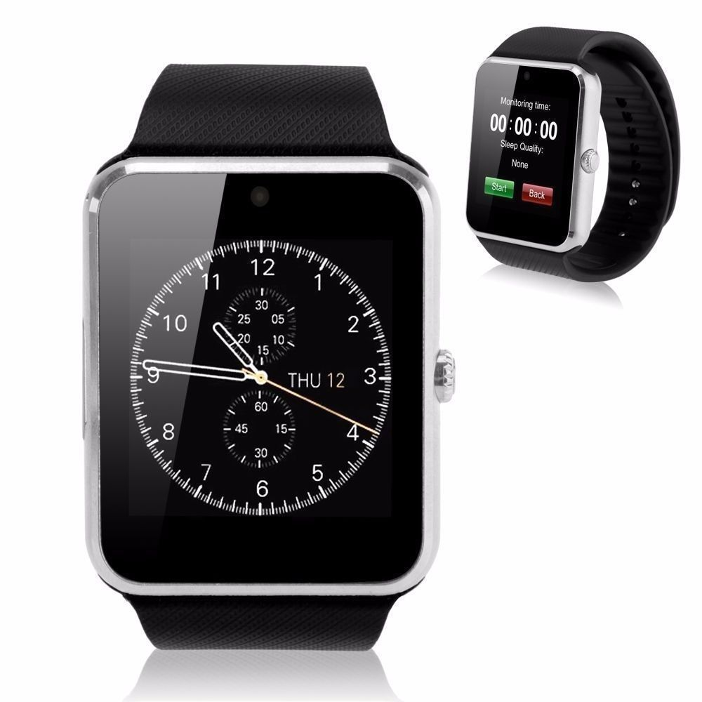 Sim card gsm gprs smart wrist watch for ios android