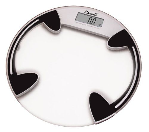 Escali BRC Glass Platform Digital Bathroom Scale LbKg - Large display digital bathroom scales for bathroom decor ideas