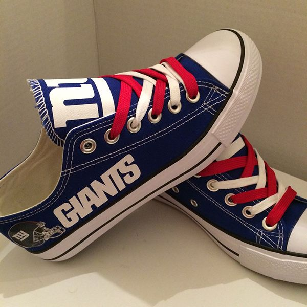 6ac3d9862ee0 New York Giants Converse Style Sneakers - http   cutesportsfan.com new