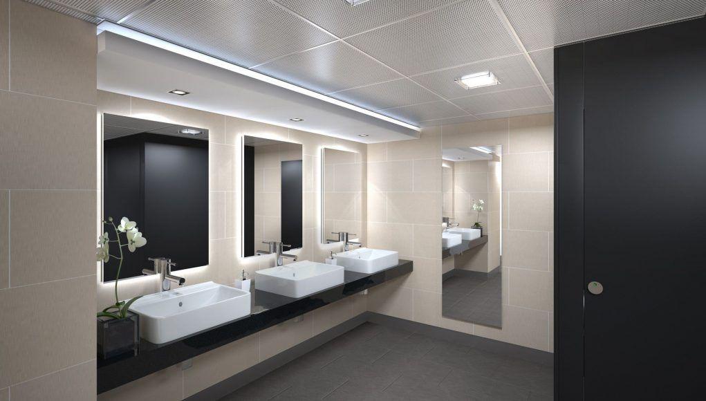 Beautiful Picture Of Commercial Bathroom Light Fixtures Interior