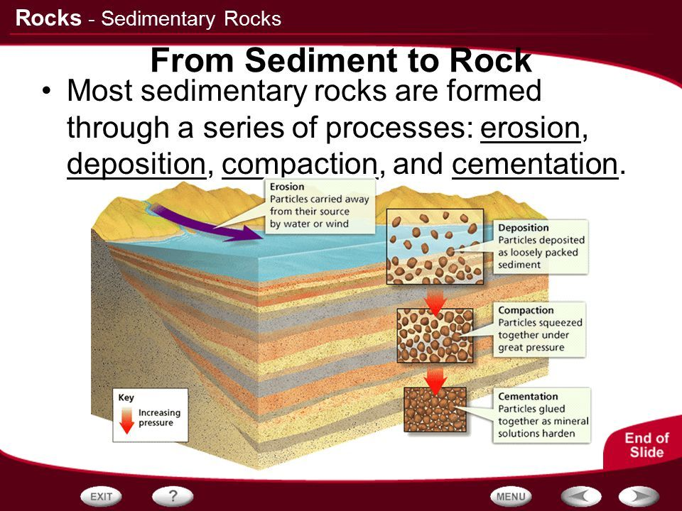 Image Result For Sedimentary Rock Chart
