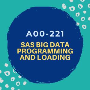 Sas Certified Big Data Professional Using Sas 9 Big Data Data Sas