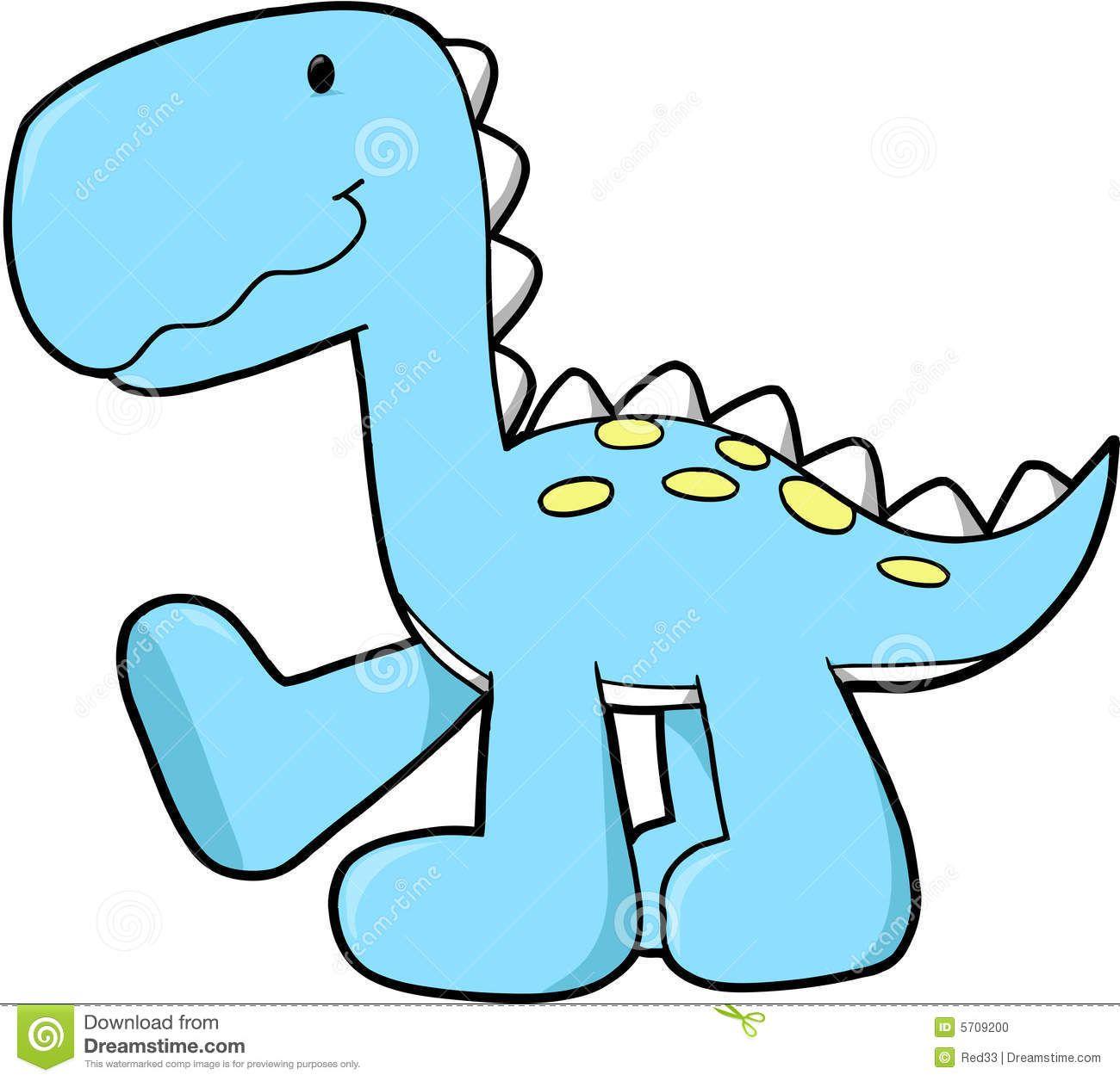 hight resolution of cute dinosaur free clipart
