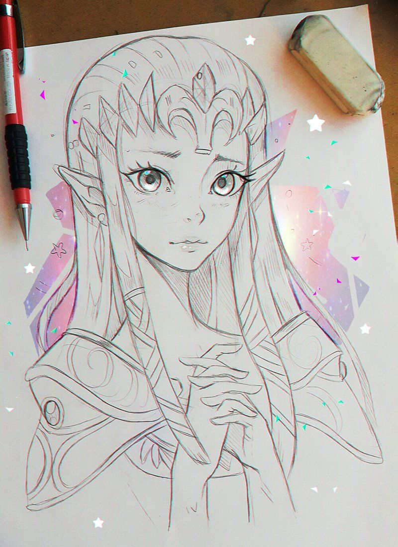 Ramon On Twitter Zelda Art Anime Sketch Anime Drawings