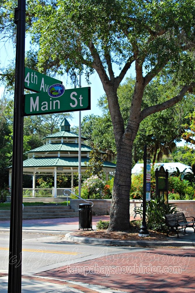 The Gazebo at Main and 4th in Safety Harbor, Florida