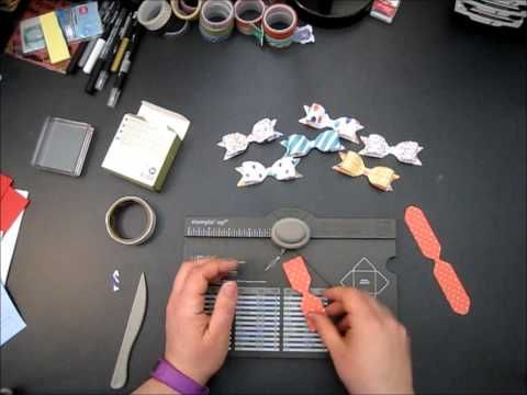 Envelope Punch Board Bow - YouTube