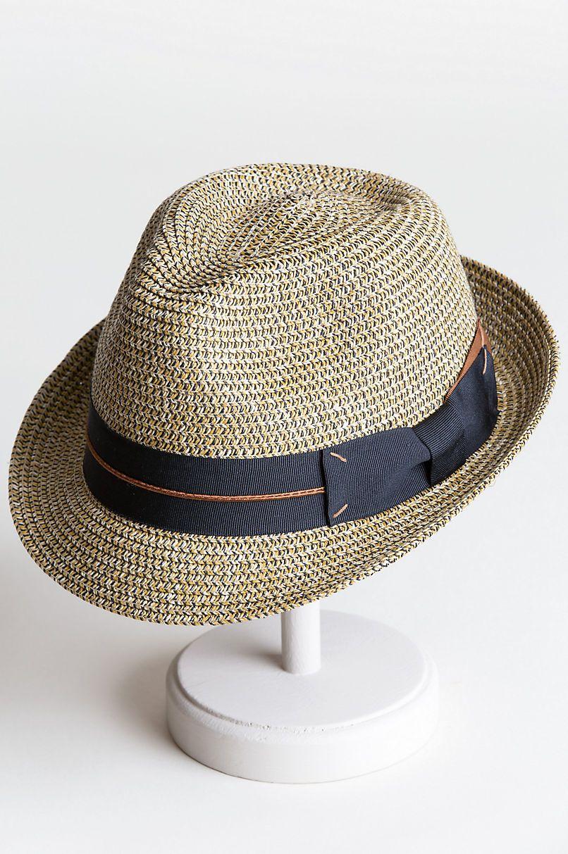 d18da550a31dea Chatum Paper Braid Fedora Hat in 2019 | Hat for man | Fedora hat ...