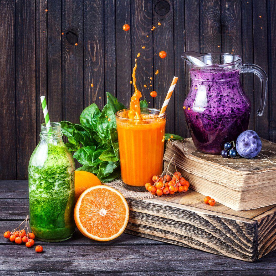 Entgiften, entschlacken, abnehmen: 5 leckere Detox-Getränke zum ...