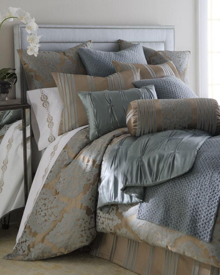 Fino Lino Linen Lace Tiara Bedding Luxuriously Soft Bedding In