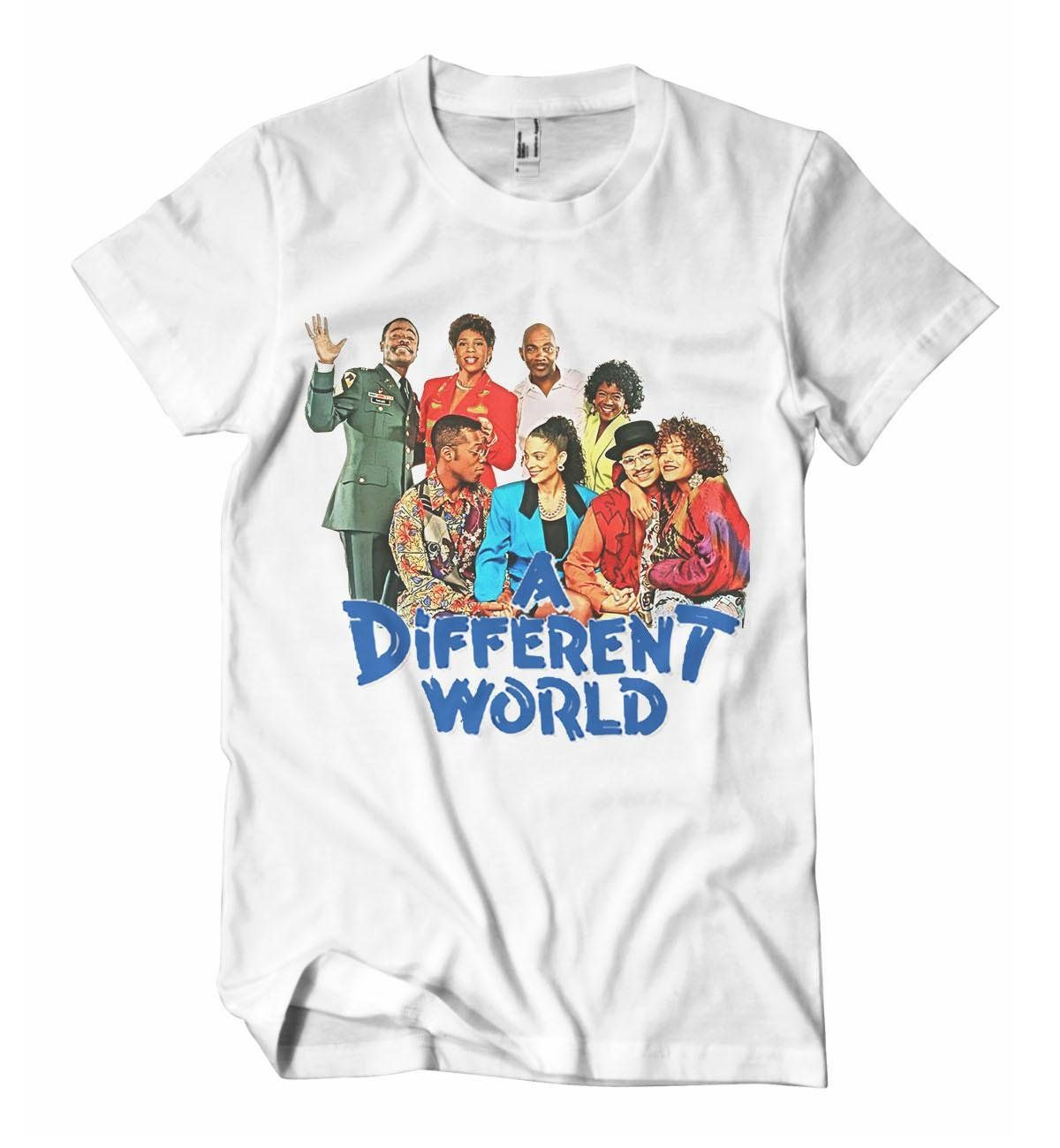 7056ba294 A Different World Cast T-Shirt - Izzy & Liv - crew neck | Shirts I ...