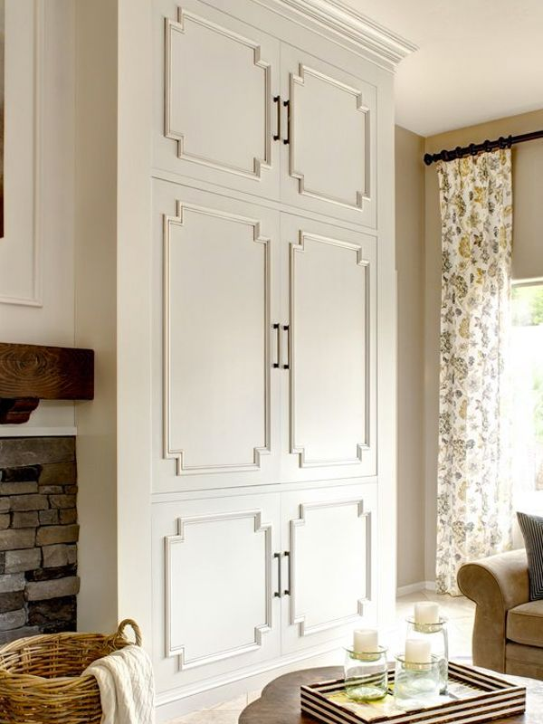 Bookcase Door With Trim Detail Inspirations Fretwork
