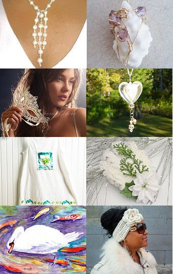Gorgeous White Etsy Finds, by Donna Marie on Etsy--Pinned with TreasuryPin.com