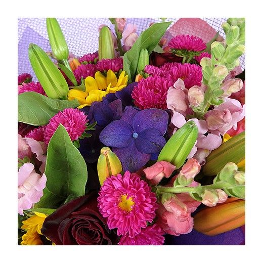 Bright Seasonal Bouquet - Auckland Delivery - Bestow Gifts + Flowers