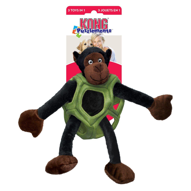 Kong Puzzlements Monkey Dog Toy Dog Toys Toy Puppies