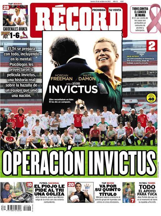 RÉCORD Monterrey 10 octubre 2013