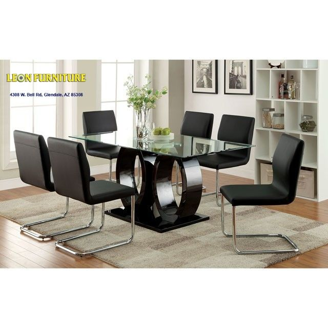 Lodia 1 CM3825T Black Rectangular Table