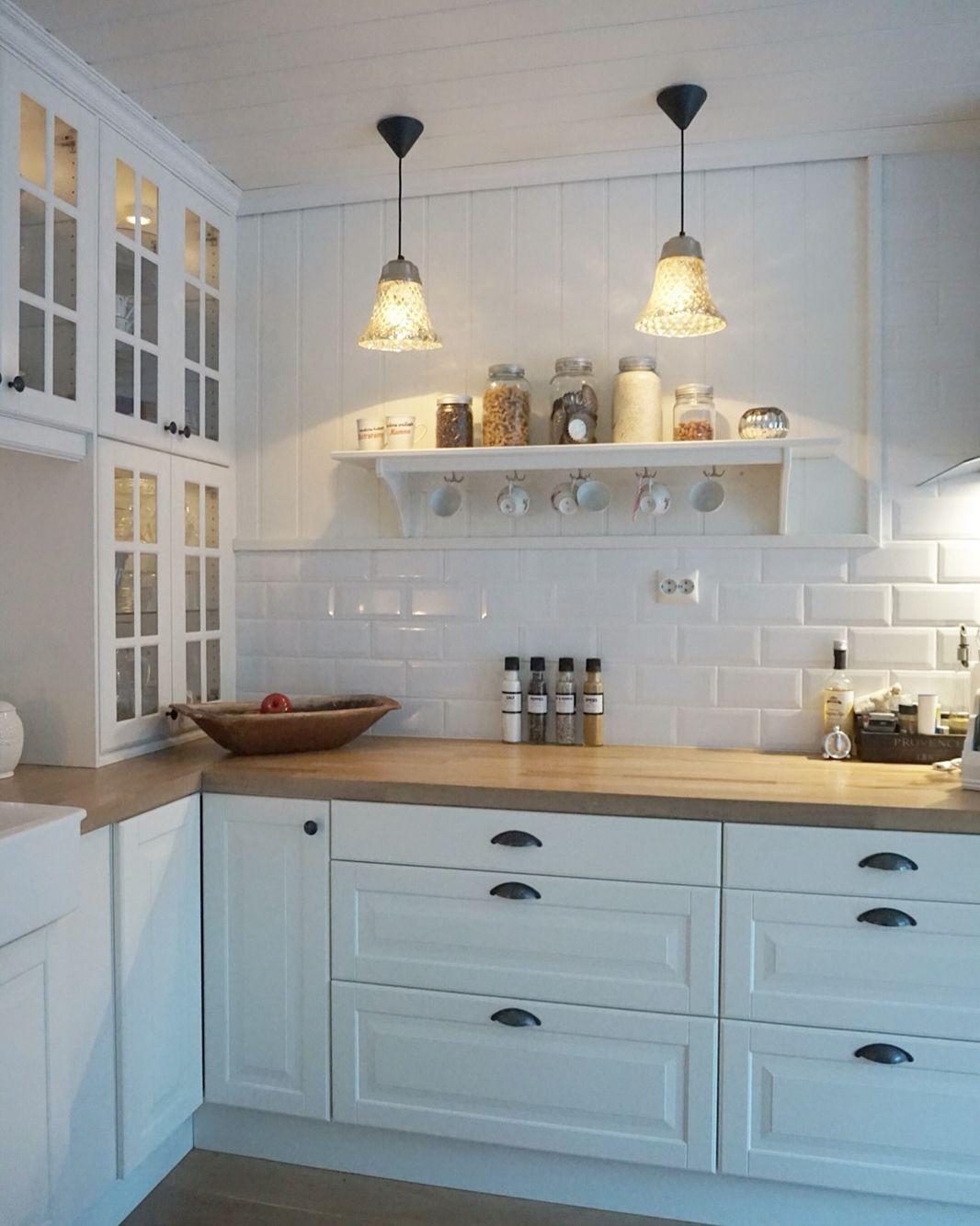 Detaljs by @behindabluedoor | Ikea küche landhaus, Küche ...