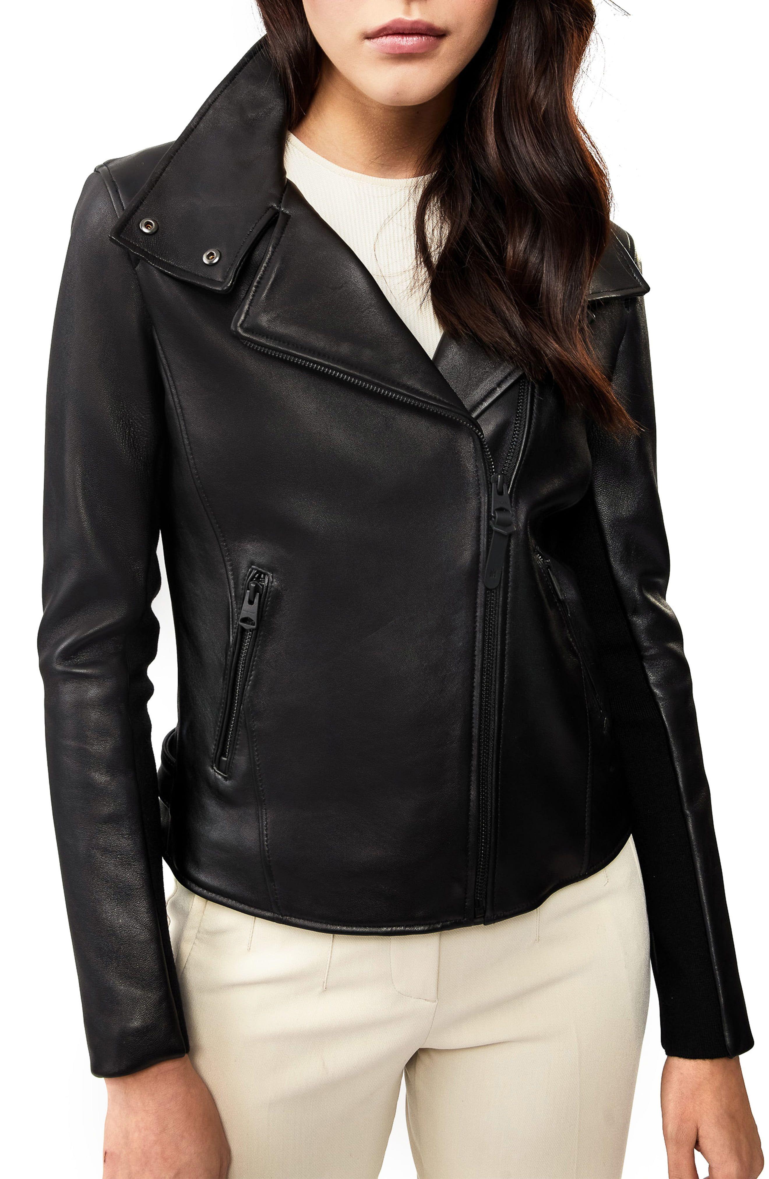 Mackage Sandy Leather Moto Jacket Nordstrom In 2020 Leather Moto Jacket Leather Jackets Women Black Leather Moto Jacket [ 4048 x 2640 Pixel ]