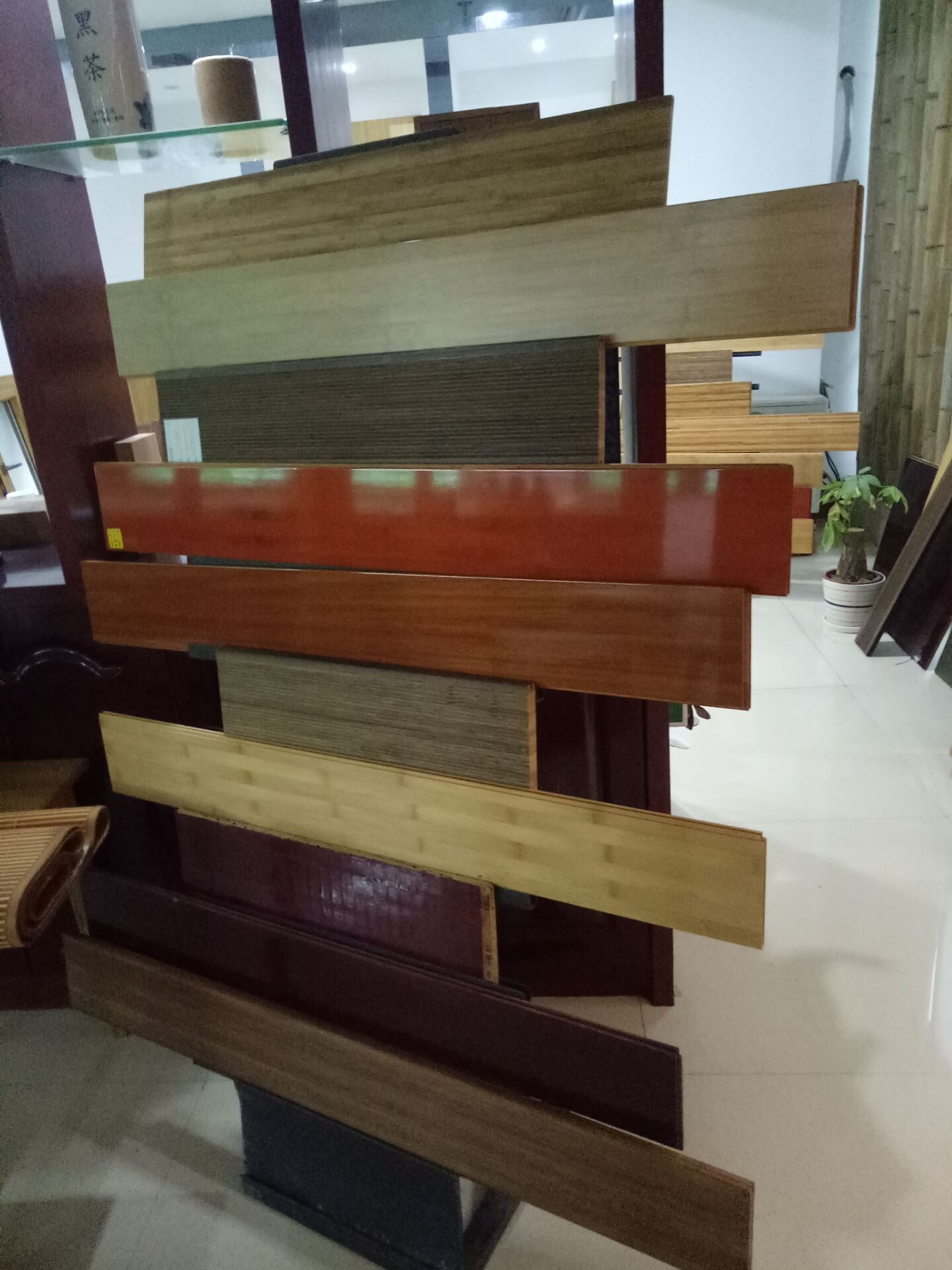 Bamboo flooring factory from china fenghe we export good quality