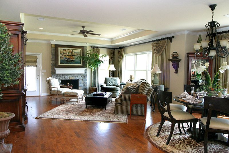 Luxury home floor plans available at the tradition open