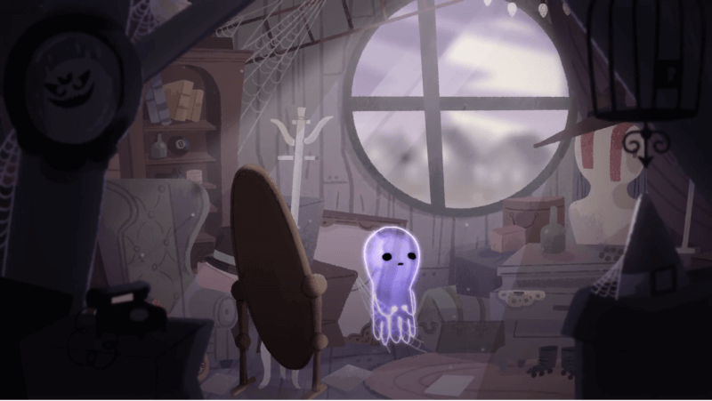 Halloween Google doodle tells the story of Jinx, the