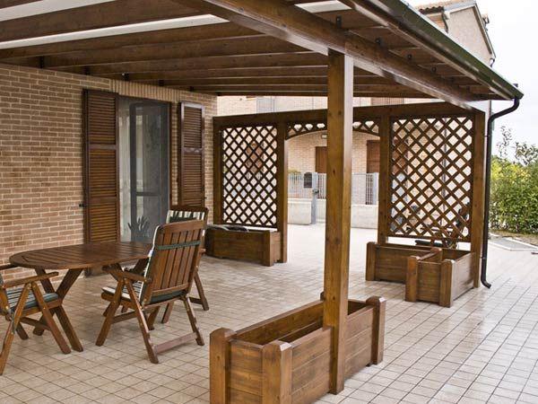 pergolati in legno a bologna porch nel 2019 tetto