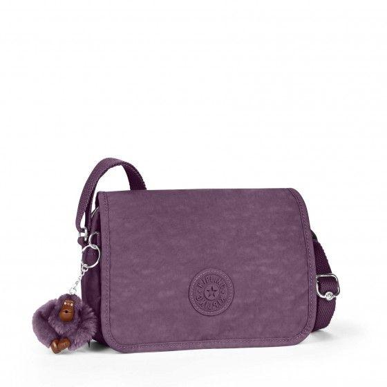 Kipling Delphin N shoulder bag violet shades   Sac, Sac à
