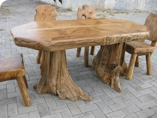 Superb Tree Trunk Table   Google Search