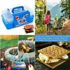 Smores Caddy W Two Folding Trays Smore Box That Keeps Your Marshmallow Roa BLUE #OutdoorCooking #smoressticks
