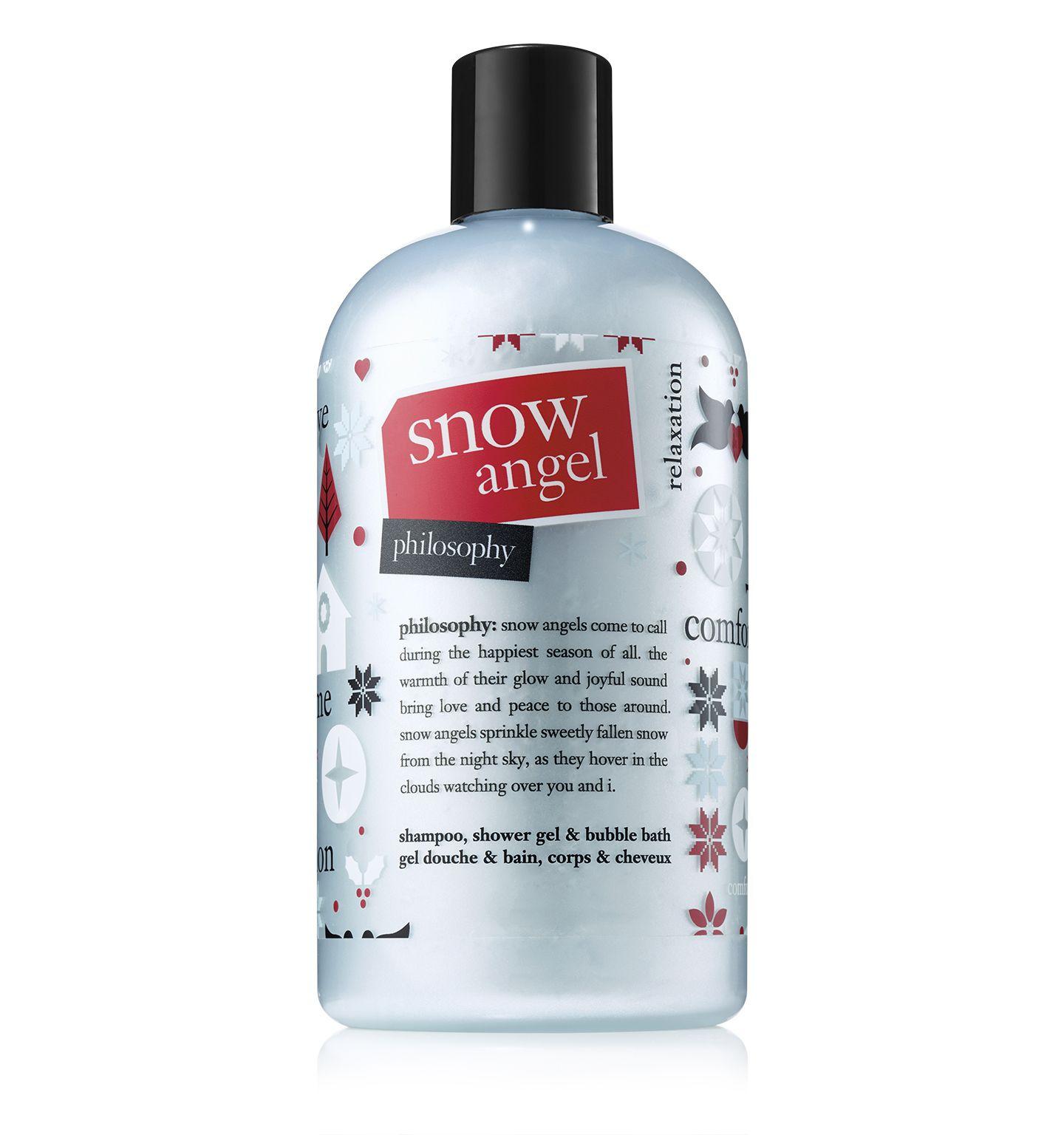 Philosophy Snow Angel Shower Gel Body Care Routine Snow Angels