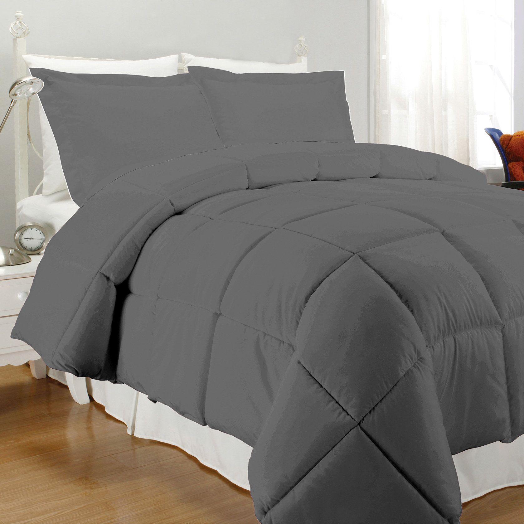 Carley Reversible Comforter Set Comforter sets, Cool