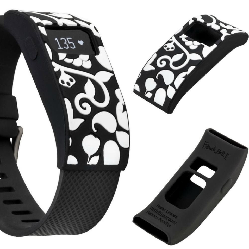 French Bull Fitbit Charge//Fitbit Charge HR Slim Designer Sleeve Band Cover
