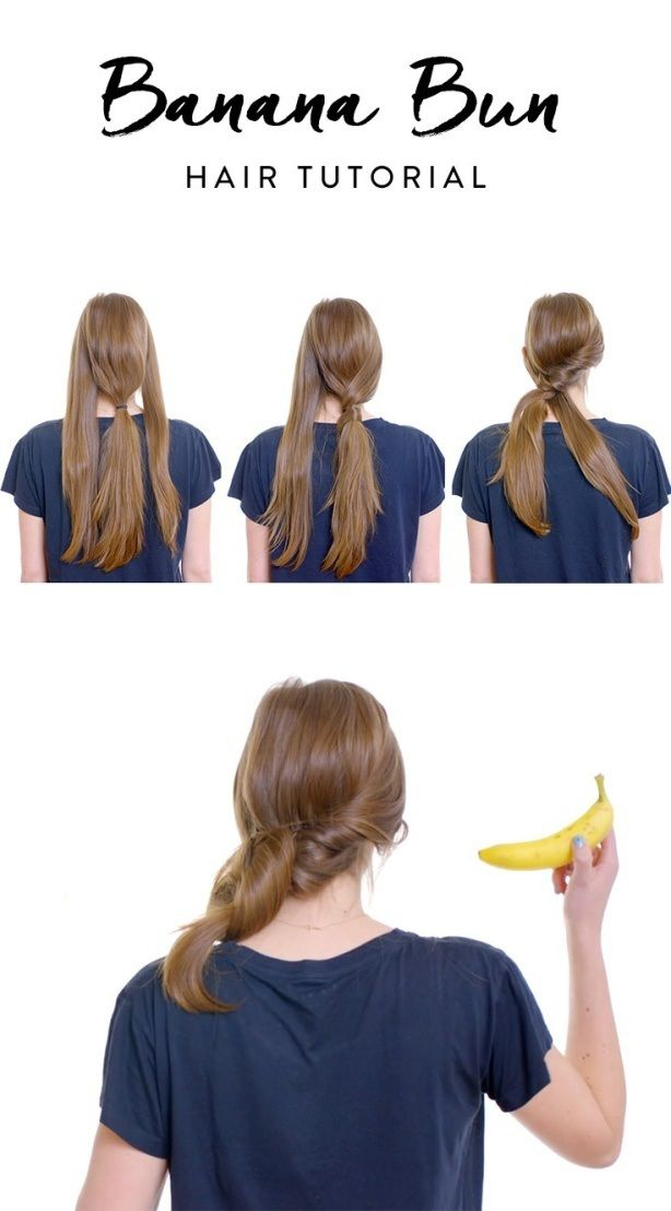 Nbsp Banana Buns Are The Latest Hairstyle Hailing Straight From