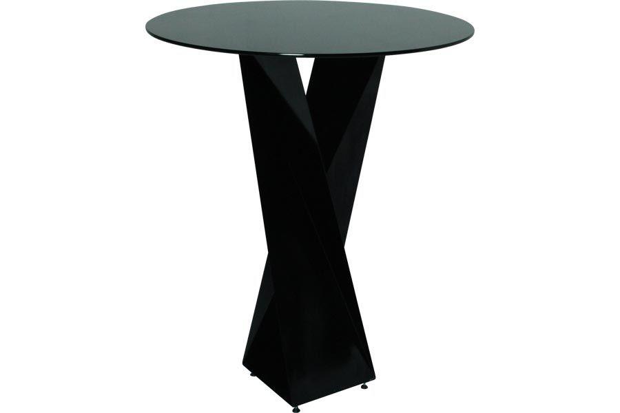 Twist Cocktail Highboy Table 42 High Black Highboy Table Table Black Decor