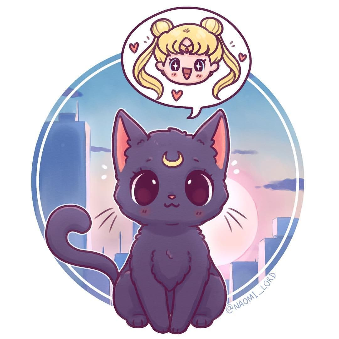Luna And Usagi That Is Serena S Japanese Name I Prefer The