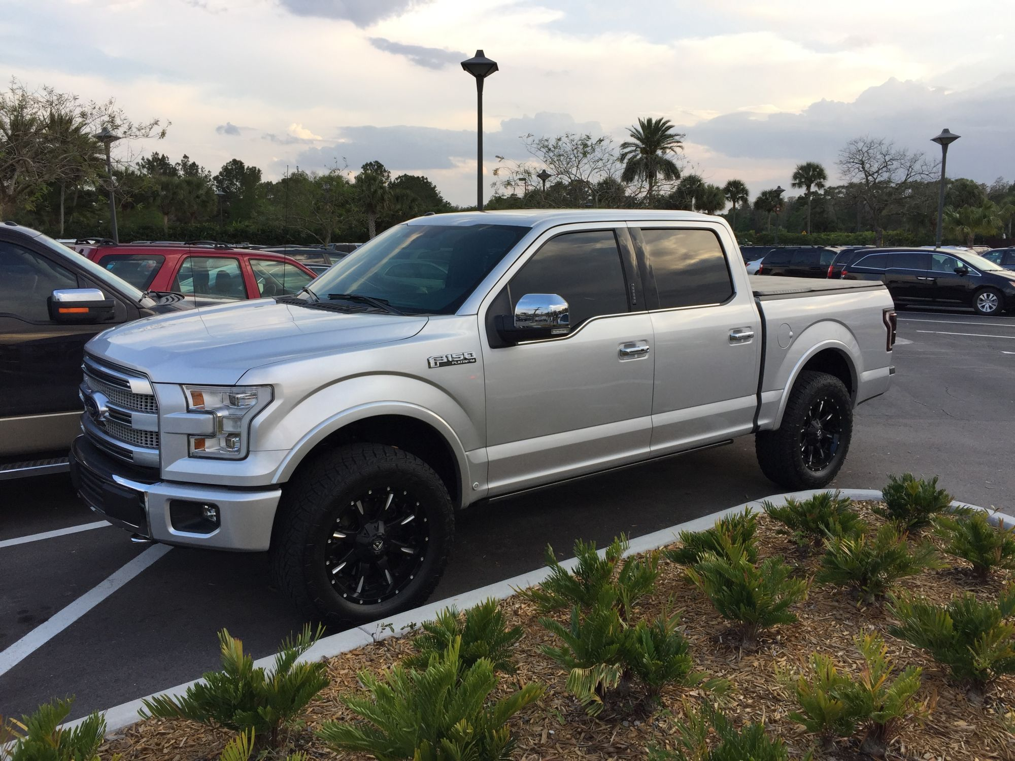 Rough Country Leveling Kit And Tire Ideas Ford F Forum Community Of Ford Truck Fans