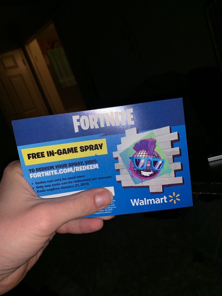 Walmart Exclusive Fortnite Spray Ebay Ballersinfo Com