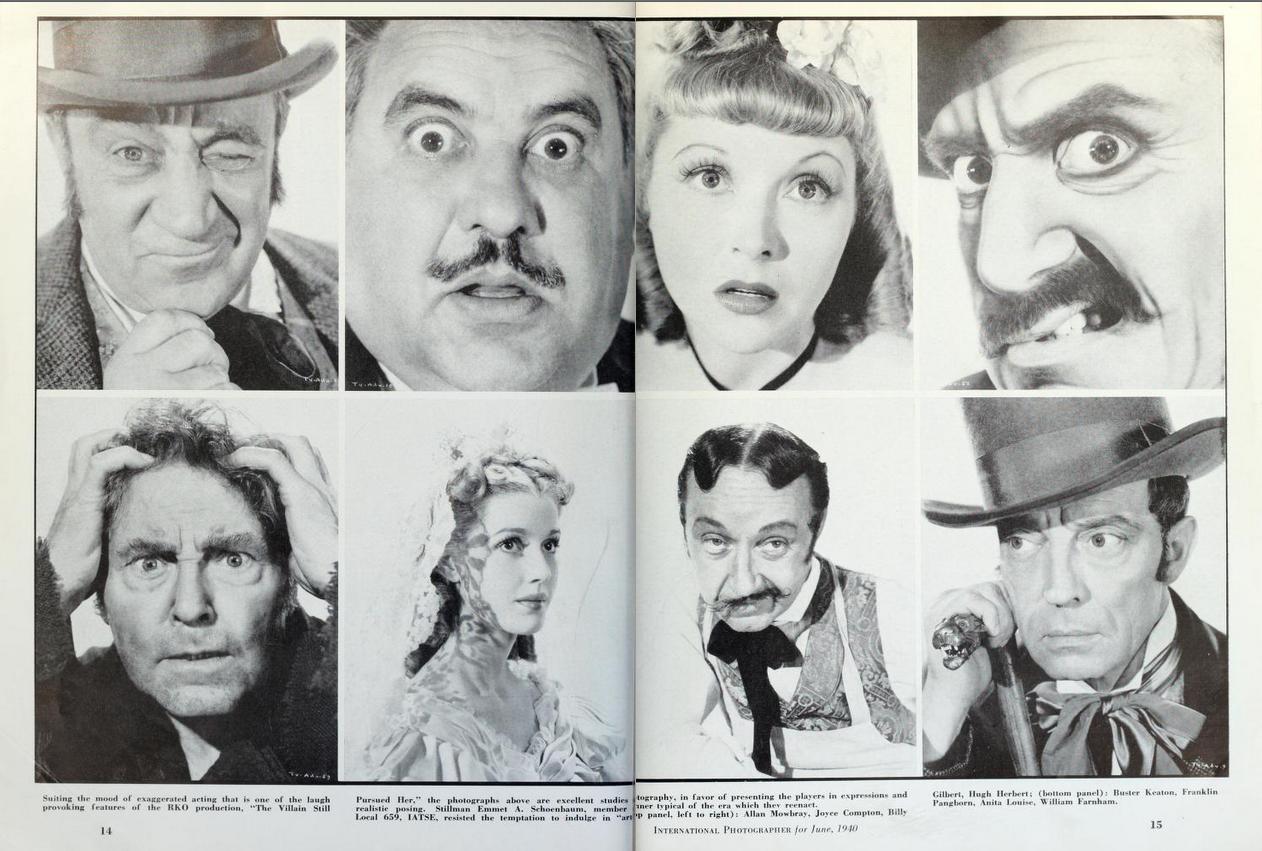 Stills from 'The Villain Still Pursued Her' Male sketch