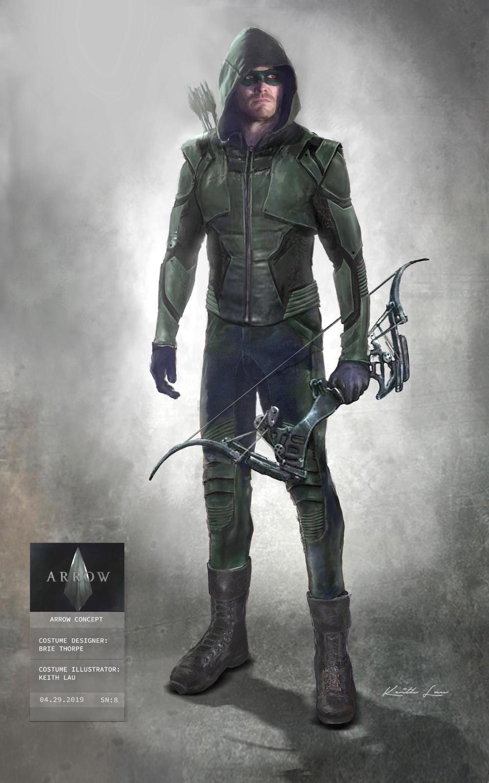 Official Arrow S8 Green Arrow Suit Concept Art By Artlover67 On Deviantart In 2020 Green Arrow Cosplay Green Arrow Tv Green Arrow