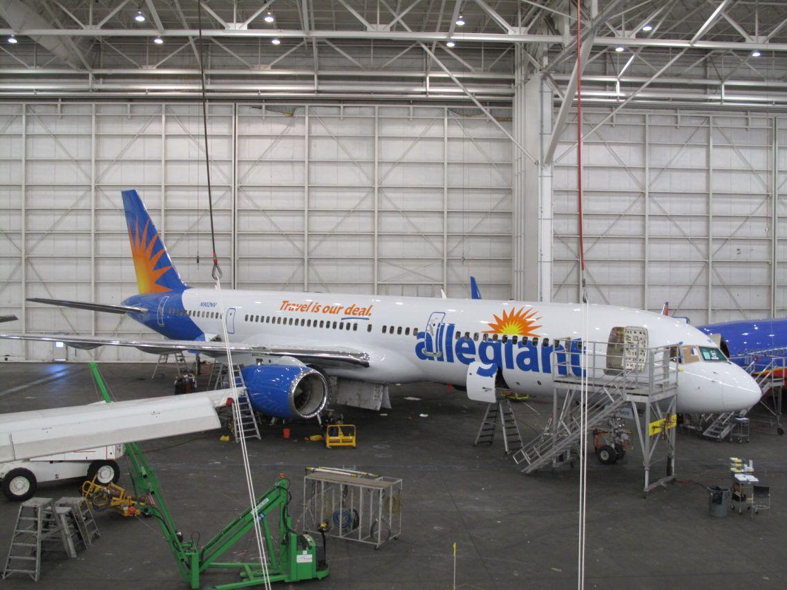 Allegiant Air Retired Aircraft Fleet Boeing 757200
