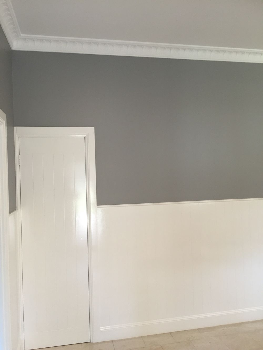 Dulux Stepney half strength  Wall colours  Home Decor Wall colors Grey paint
