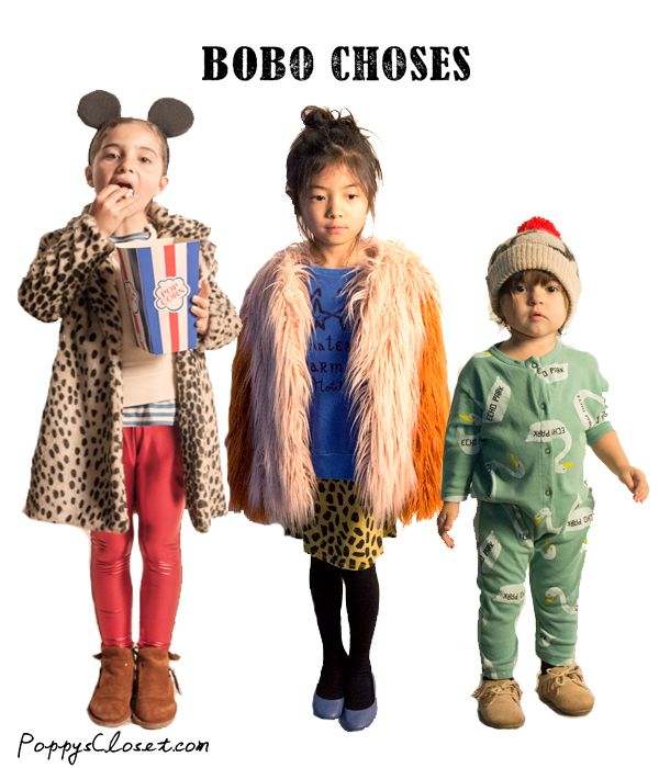 Bobo Choses AW14 // PoppysCloset.com #kids #fashion