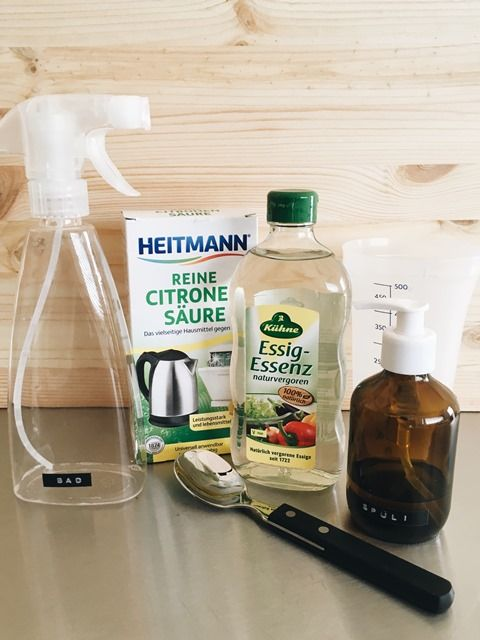 Photo of So und jetzt gleich mal das erste Rezept zum plastikfreien Leben. Badreiniger. I…