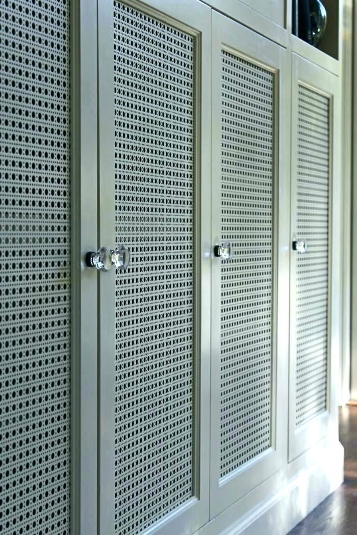 Decorative Wire Grilles Cabinet Doors Screen Door Metal Mesh Door
