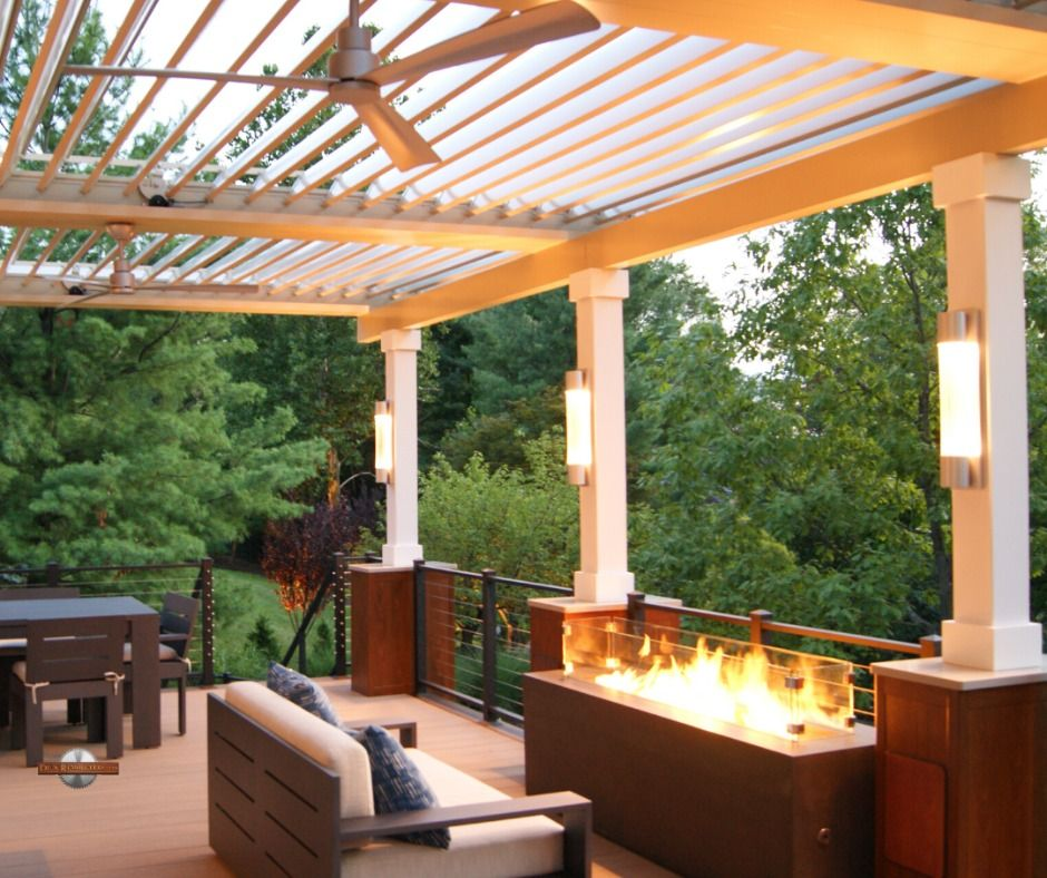 Louver Patio Cover Apollo Opening Roof System (With