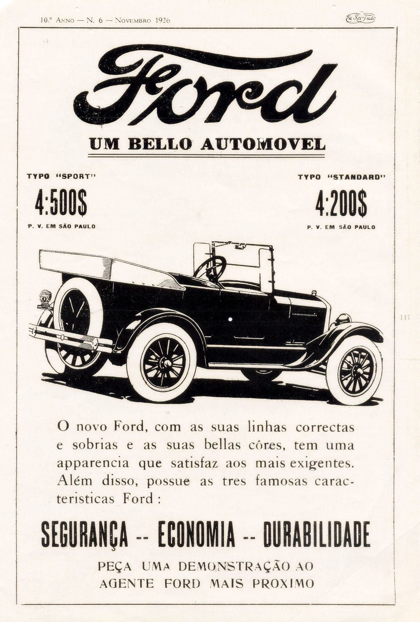 May 31, 1927 – The last Ford Model T rolls off the assembly line ...