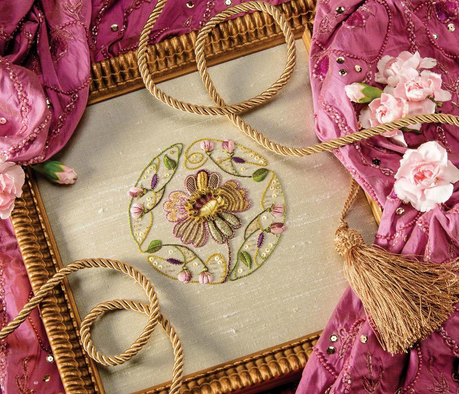 Lovely silk & goldwork!