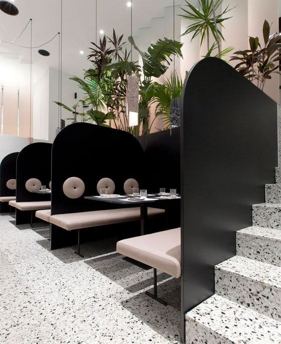 Terrazzo trend takes over the year of 2019 Restaurant