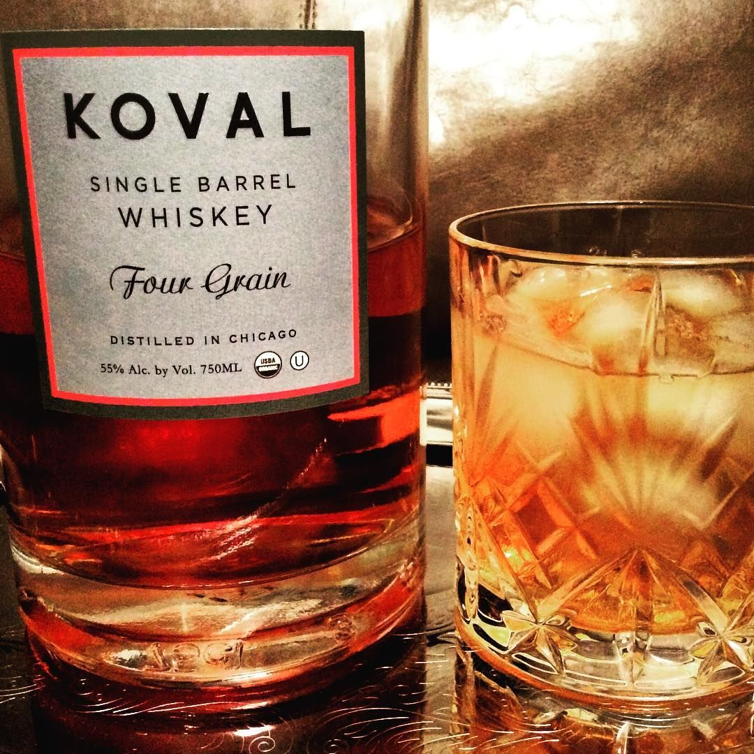 Koval Four Grain Whiskey Wine Bottle Distillation Rose Wine Bottle